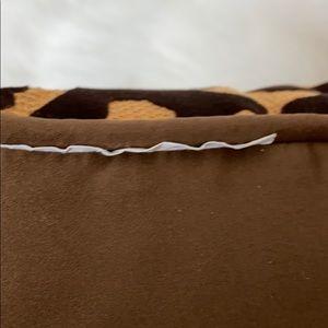 Pier 1 Accents - Pier 1 Imports Raised Leopard Print Pillow